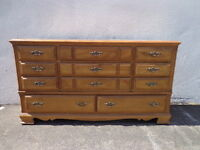Traditional Dresser Chest of Drawers Shabby Chic French Provincial Table Country