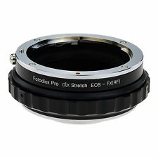Fotodiox Objektivadapter Pro DLX Stretch for Canon EOS Lens to Fujifilm X Body