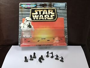 Star Wars Micro Machines Imperial Naval Figures Set of 9 Figures VGC