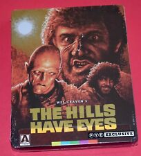 The Hills Have Eyes - Steelbook (Blu-ray 2018 - Region A) NEW Wes Craven