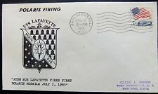 Enveloppe conquête spatiale américaine du 2 07 1963 de Cape Canaveral Polaris
