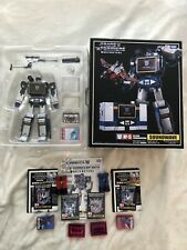 Transformers Masterpiece MP-13 Soundwave with Cassettes
