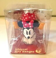 DISNEY Minnie Mouse Mascot Magnet Key Hanger Holder from JAPAN F/S
