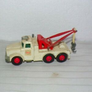 Vintage Matchbox Lesney KING SIZE ESSO K-2 Scammell Heavy Wreck Tow Truck