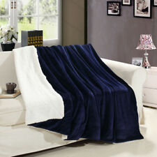 Sofa Faux Fur Throw Bed Blanket Mink Soft Warm Fleece Flannel Blankets Wniu