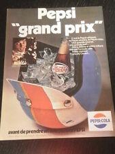 1970 - PEPSI COLA  AD - PUBLICITE - ANUNCIO  NO COCA COLA - FRENCH - 3219