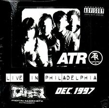 Atari Teenage riot LIVE UNRELEASE 9 TRX PROMO SEALED CD