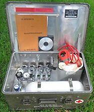 BW Zarges Kiste A5 Sauerstoff Inhaliergerät Dräger Taucher TÜV bis max 2030
