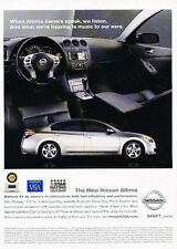 2008 Nissan Altima - Award - Classic Vintage Advertisement Ad D94
