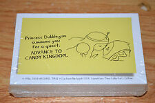 Monopoly Hasbro Adventure Time Collectors editition 2013 Replacement Cards