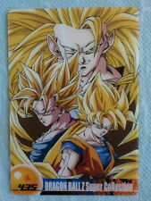 JAPAN DRAGONBALL x MORINAGA Sushuu Card Super Saiyan1,2,3 SON GOKU DXSC-10-435