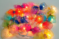 20 LOVELY BUTTERFLY STRING PARTY,FAIRY,KID BEDROOM,HOME,CHILDREN,DECOR LIGHTS