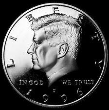 1996 S  Kennedy Mint Silver Proof Half Dollar from Original U.S. Mint Proof Set
