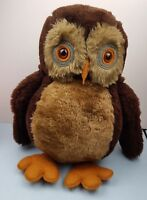 Vintage Animal Craft large Owl Hand made in England with lovely Detail