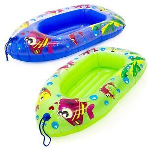 Niños Hinchable Flotador Barco Infantil Niños Piscina Playa Juguete