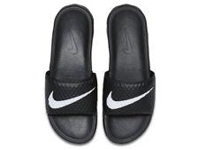 Nike Benassi Solarsoft TB Black White Mens Sandal Slides Slippers 831171 010 8