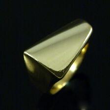 Georg Jensen 18k Gold Ring #1141 - Plaza - Henning Koppel - size 52mm