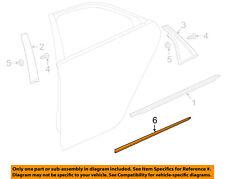 Cadillac GM OEM 16-18 CT6 REAR DOOR-Body Side Molding Right 23409489