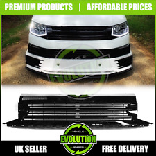 Fits VW Transporter T6 2016-19 Badgeless Gloss Black Grille Upgrade Grill