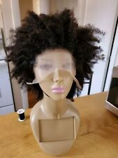 Afro kinky curl Lace Front Wig Human Hair Wig, 180% density