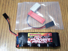 Traxxas 3.3 Revo Receiver Power Pack 1200mah 6V Ni-mh Rx Battery Charger Adapter