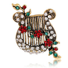 Christmas Pearl Brooch Deer Snowman Pendant Jewelry Rhinestone Brooches Womenwn6