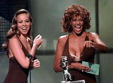 Whitney Houston & Mariah Carey Unsigned Photo - 7811 - Sexy!