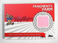 2016 Topps Pro Debut Fragments of the Farm Pink in the Park Promotional Jersey