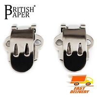 NEW BLANK SHOE CLIPS BUCKLE BRIDAL WEDDING BOWS JOB DIY LOT PAIR BROOCH WOMEN UK