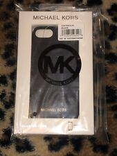 BNIB MICHAEL KORS iPhone 7 & 8 Luggage Saffiano Leather Snap-On Phone Case