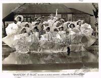 Vintage Original Golden Era of Hollywood Photograph Publicity Rhapsody In Blue