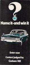 Ford zephyr mkiv édition spéciale 1971 uk la concurrence du marché entrée brochure