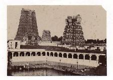 PHOTO ANCIENNE Palais Architecture ASIE Inde ? Vers 1880 Tirage albuminé