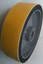 "140G - 8"" x 2"" Diamond ""XTRA"" Wide Soft Wheel Polishing Lapidary Glass Grinding"
