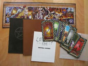 Ultima IX: Ascension (1999) w/ Tarot Cards Magic Books Commands