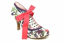 Ruby Shoo Willow Arco De Tacón Alto Zapatos Tribunal Multi-COL
