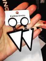 Fashion Women triangle Ear Acrylic Drop Dangle earrings Jewelry Gift