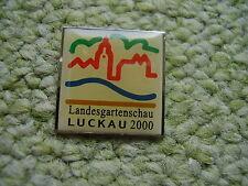 Pin Luckau Landesgartenschau 2000 im Bundesland Brandenburg Deutschland Germany