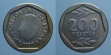 SPAGNA 200 PESETAS 1987/E-87 JUAN CARLOS PROOF