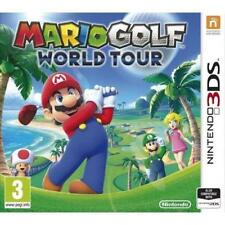 Mario Golf World Tour 3DS 2DS New and sealed
