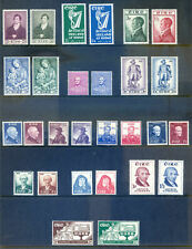 1952-64 complete run of 25 QE2 commemms all lightly hinged (2018/10/03#05)