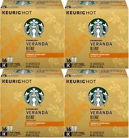 LOT OF 64 Starbucks Veranda Blend Blonde, K-Cup for Keurig Best Before Jan 2020