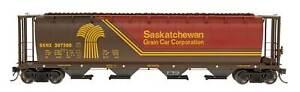 InterMountain-N SASKATCHEWAN-SKNX Cylindrical Hopper Cars (65121/ Assorted #'s)