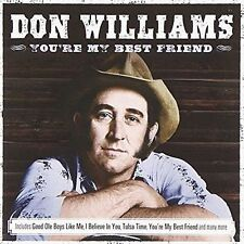 CD Don Williams You're My Best Friend Ruby Tuesday Tears Tulsa Time Amanda Etc