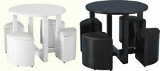 Kitchen Up to 4 Seats Table & Chair Sets with 6 Pieces