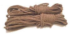 LEX ROPES Leinenhanf Set 8Stx8mx5mm (1,71 EUR /Meter) Hanf Bondageseil Shibari B