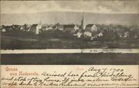 Gruss Aus Neckarelz Germany Used 1900 Postcard
