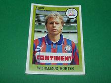 N°46 WILHELMUS GORTER SM CAEN STADE MALHERBE PANINI FOOT 94 FOOTBALL 1993-1994