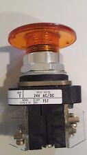 Allen Bradley 800T-QM24 Orange button new, no box free shipping