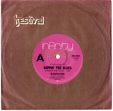 "BLACKFEATHER (BLACK FEATHER) - BOPPIN' THE BLUES - RARE 7""45 RECORD 1972"